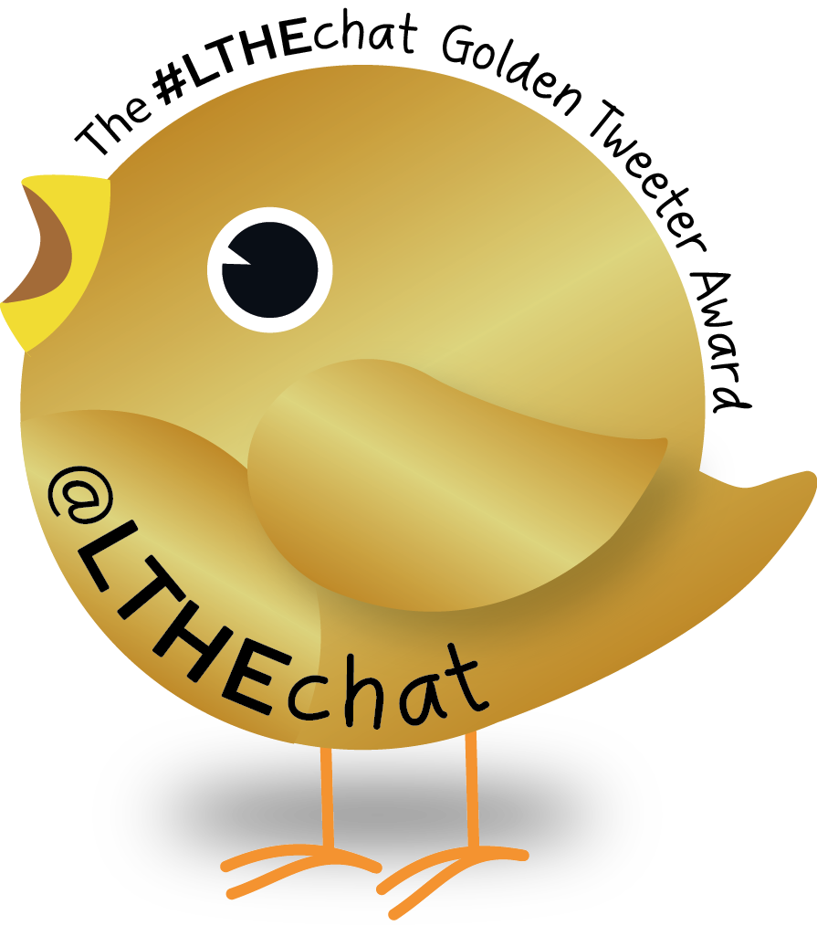 Golden Tweeter Award Badge.