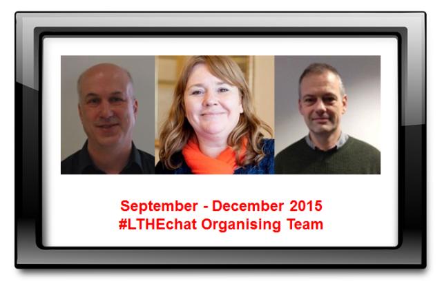 Sept-Dec 2015 Organising Team