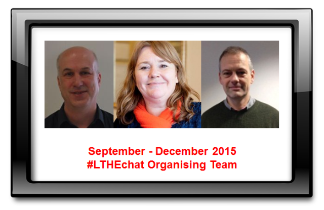 Sept-Dec 2015 Organising Team