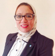 A photograph of Dr Hala Mansour